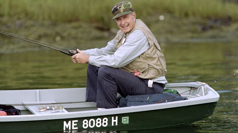 For President Bush Escaping To Maine Was A Point Of View Npr