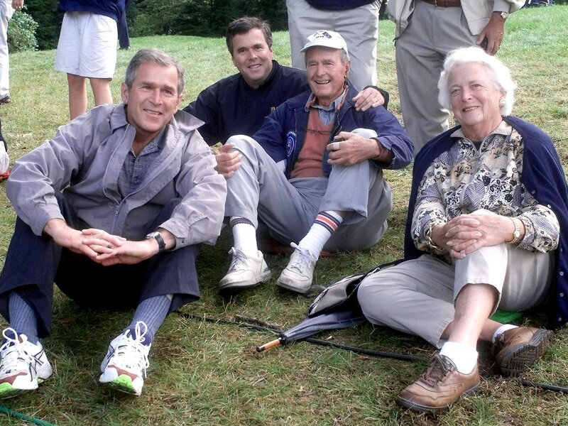 Who S Who In The Bush Family At Wednesday S State Funeral Npr