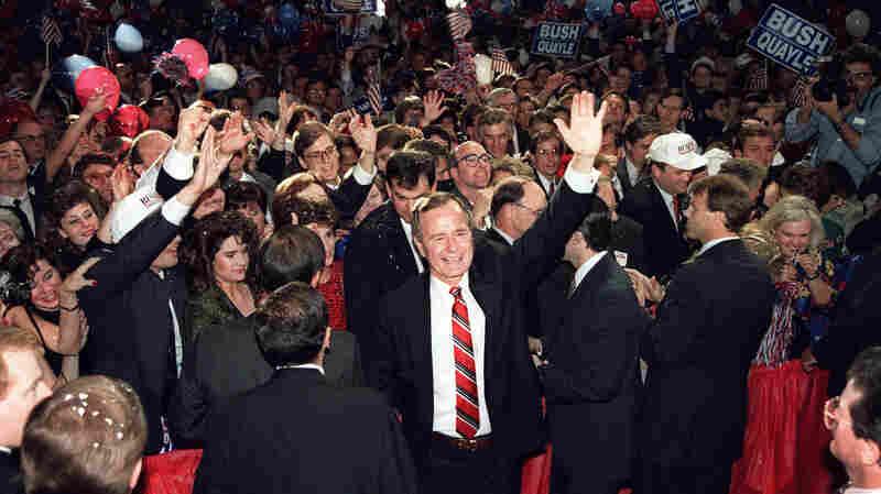 6 Little Words Helped Make George H.W. Bush (A 1-Term) President