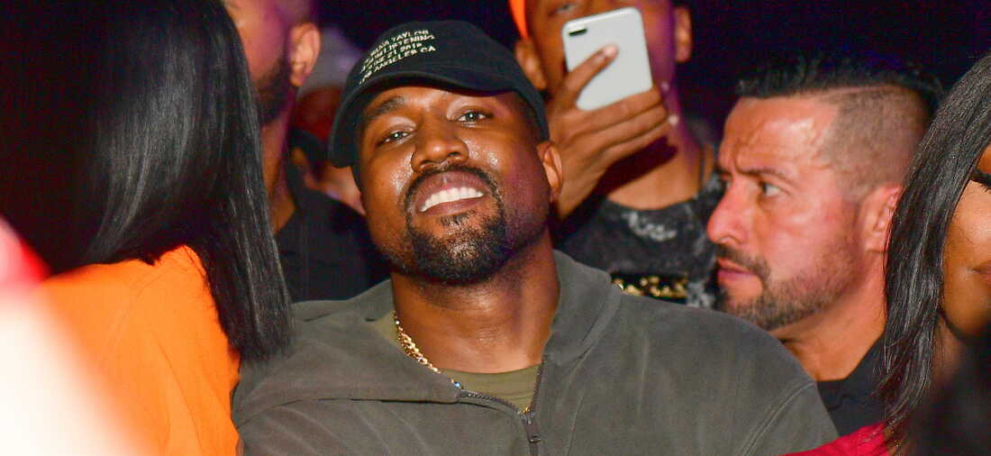 Kanye West attends Teyana Taylor Album Release Party at Universal Studios Hollywood on June 21, 2018 in Universal City, California.