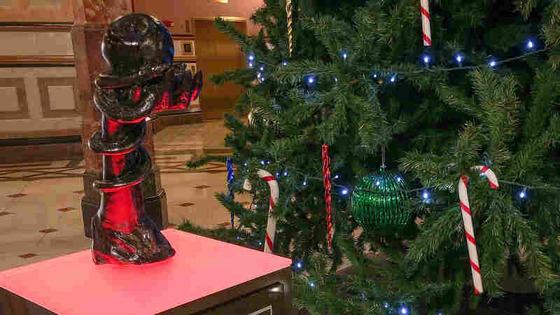 Satanic Sculpture Installed At Illinois Statehouse, Just In Time For The Holidays