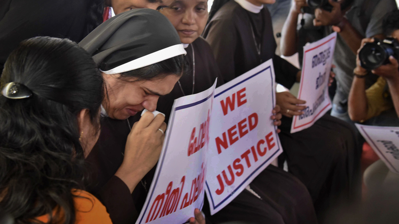A Nun In India Accuses A Bishop Of Rape, And Divides The