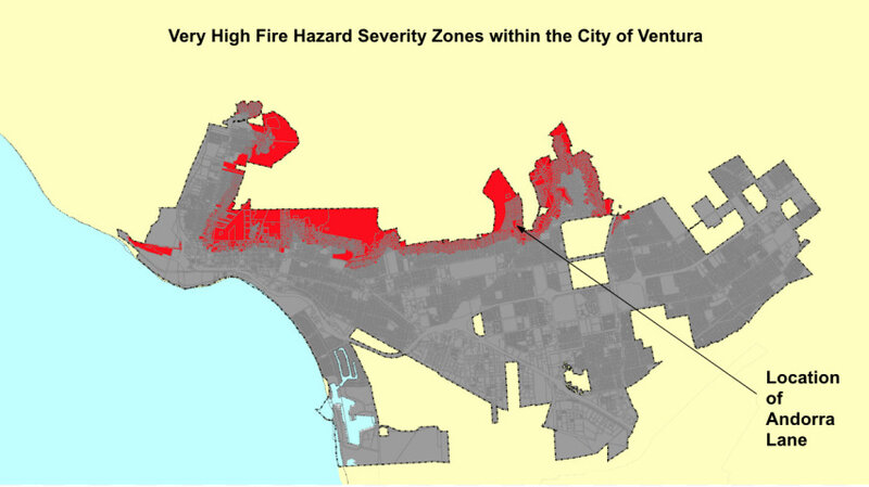 Lane Fire Map.Fire Resistant Is Not Fire Proof California Homeowners Discover Npr