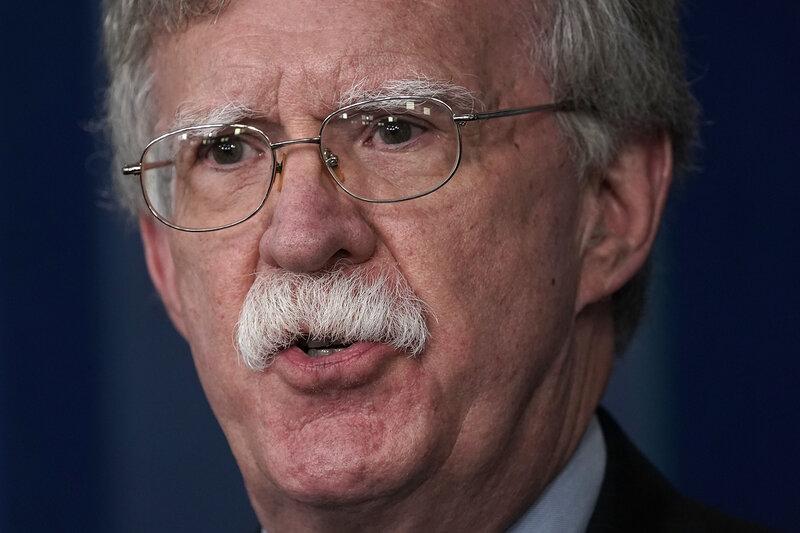 c95de1c3 Transcript: NPR's Interview With National Security Adviser John Bolton