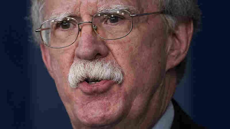 Transcript: NPR's Interview With National Security Adviser John Bolton