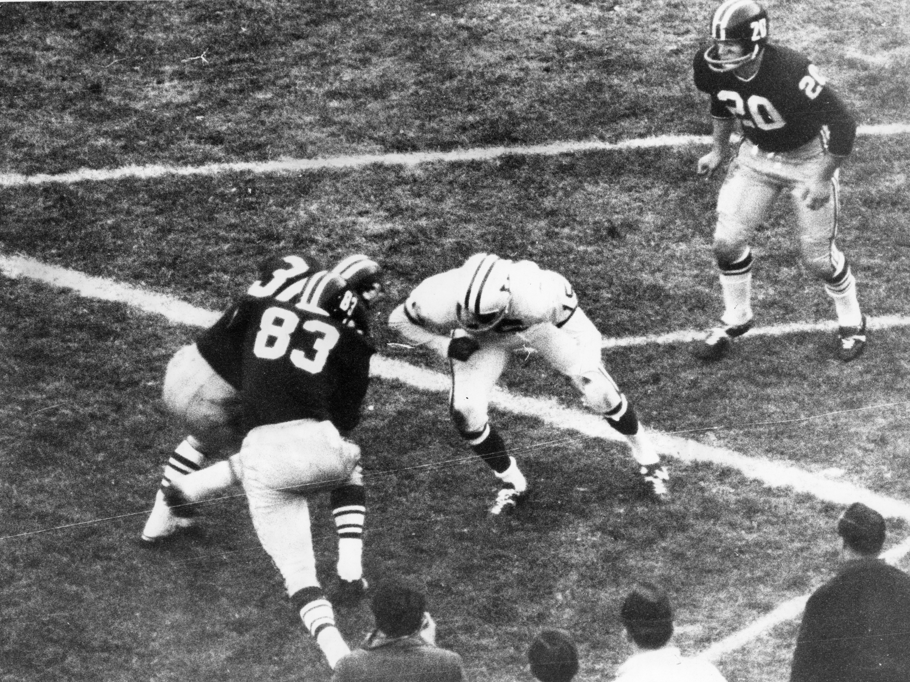 Key 1968 Harvard-Yale Battle Sets Scene For 'The Game' — And Football's Future