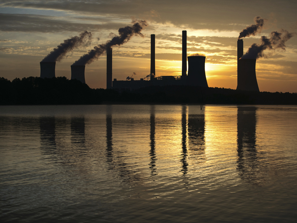 The Trump administration wants to ease an Obama-era rule that required coal plants to use expensive technology to control carbon emissions. (Branden Camp/AP)