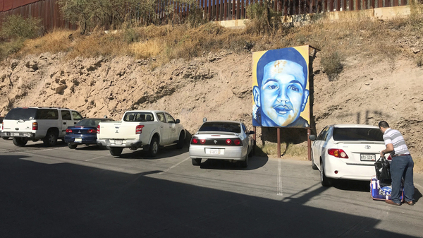 A portrait of Jose Antonio Elena Rodriguez, 16, a Mexican youth who was killed by a U.S. Border Patrol agent in Nogales, Mexico, in October 2012.