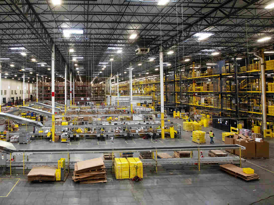Amazon Employees Hospitalized After Robot Accidentally Released Bear Spray