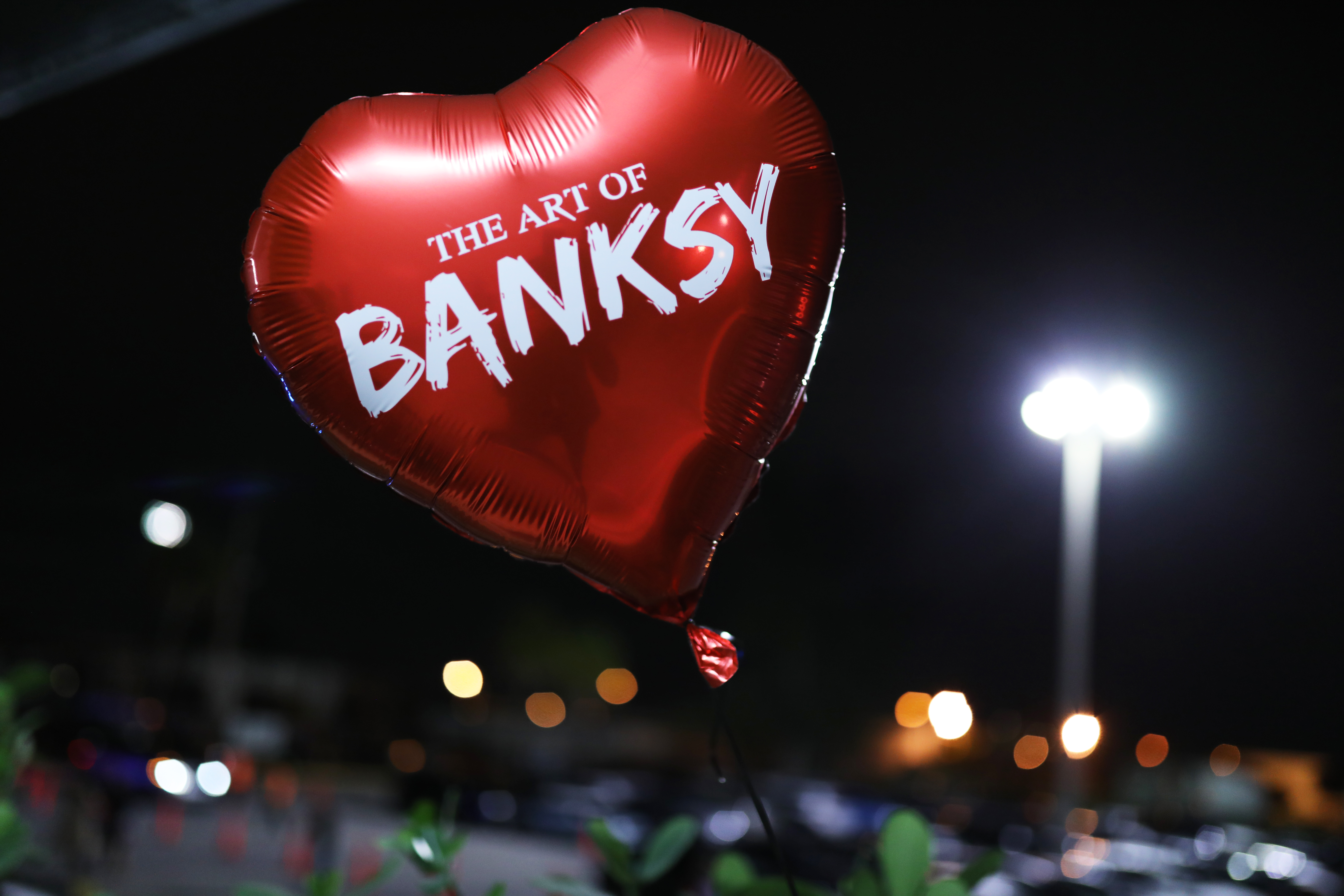 This Art Show Doesn't Have Banksy's Blessings — His Fans Don't Seem To Mind