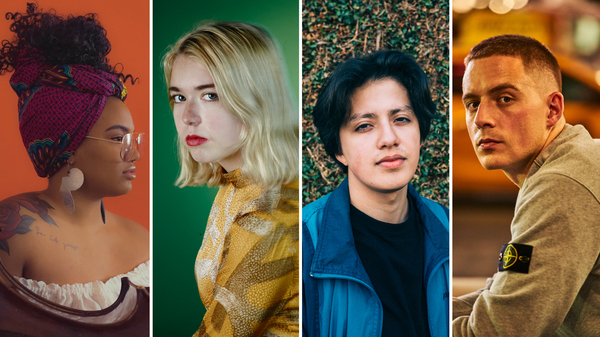 (L-R) Tonina, Snail Mail, Boy Pablo and Dermot Kennedy were voted into the top 10 Slingshot Artists of 2018 by listeners.