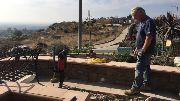 Ed Fuller and his wife, Sandra, are rebuilding their Ventura, Calif., home after it was destroyed in last year