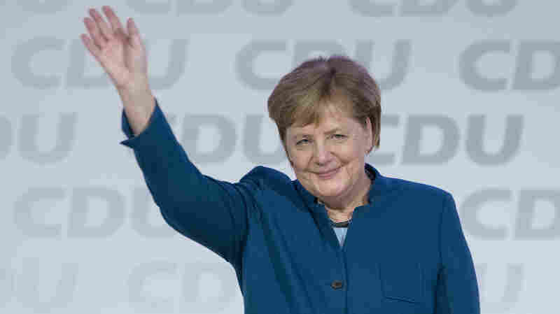 Angela Merkel's Party Elects A Successor As She Begins Her Exit From German Politics