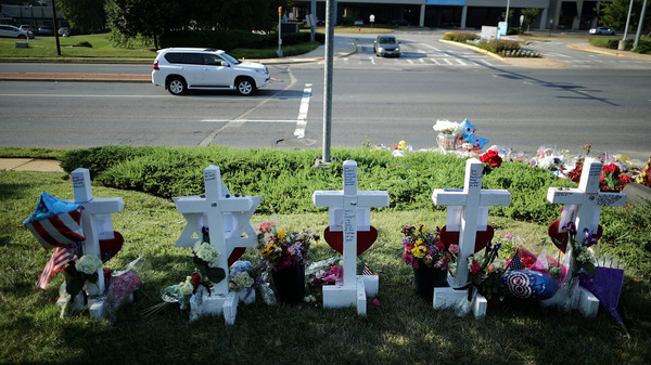 """Five wooden markers stand in a makeshift memorial outside the Annapolis Capitol Gazette offices in Annapolis, Md., in early July, honoring the employees killed by a gunman just days before. The victims were editor Gerald Fischman, 61; editor and columnist Rob Hiaasen, 59; reporter and editor John McNamara, 56; reporter and columnist Wendi Winters, 65; and s...</blockquote>      <footer class=""""entry-meta"""">       </footer><!-- .entry-meta -->   <p><a class=""""btn btn-default read-more"""" href=""""https://www.npr.org/2018/12/07/674698405/a-gentle-agonized-response-to-trumps-rage-about-journalists?utm_medium=RSS&#038;utm_campaign=news"""" title=""""A Gentle, Agonized Response To Trump&#8217;s Rage About Journalists"""">Read More</a></p>  </div><!-- .entry-content -->    </div> </div> </article><!-- #post-## -->    <article id=""""post-20759"""" class=""""post-20759 post type-post status-publish format-standard hentry category-news category-from-the-press""""> <div class=""""blog-item-wrap""""> <div class=""""post-inner-content""""> <header class=""""entry-header page-header"""">  <h1 class=""""entry-title""""><a href=""""https://www.bbc.co.uk/news/world-us-canada-46186913"""" rel=""""bookmark"""">US gun crime: American teachers carrying guns in the classroom</a></h1>  <div class=""""entry-meta""""> <span class=""""posted-on""""><i class=""""fa fa-calendar""""></i> <a href=""""https://www.bbc.co.uk/news/world-us-canada-46186913"""" rel=""""bookmark""""><time class=""""entry-date published"""" datetime=""""2018-12-08T00:01:33+00:00"""">December 8, 2018</time></a></span>    <span class=""""cat-links""""><i class=""""fa fa-folder-open-o""""></i>  <a href=""""https://itstheguns.com/index.php/category/news/"""" rel=""""category tag"""">All News</a>, <a href=""""https://itstheguns.com/index.php/category/from-the-press/"""" rel=""""category tag"""">From the Press</a>   </span>     </div><!-- .entry-meta --> </header><!-- .entry-header -->  <div class=""""entry-content"""">     <blockquote class=""""quoted"""">A number of schools in the US are opting to train staff to carry a concealed weapon in the classroom.</blockquote>      <"""