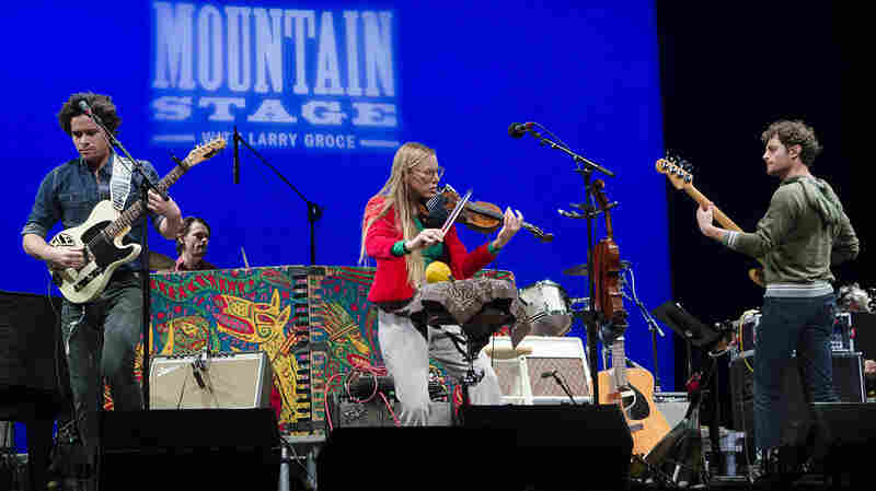 River Whyless On Mountain Stage