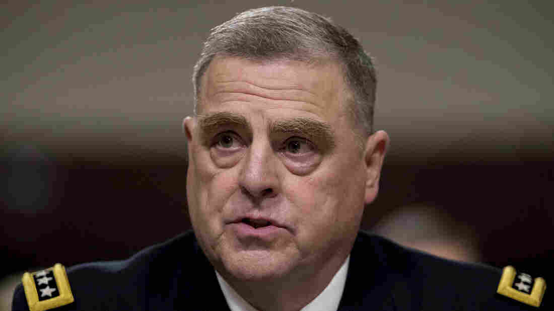 Trump Appoints Gen. Mark Milley Chairman Of The Joint Chiefs Of Staff