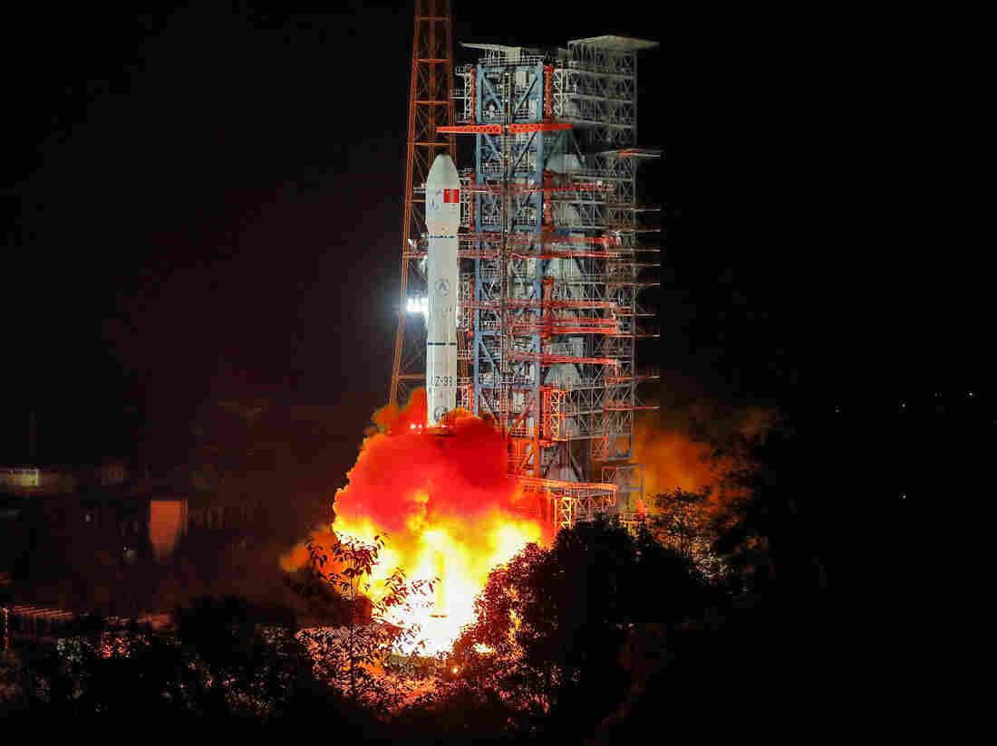 China Launches Probe Bound For A Historic Exploration Of The Far Side Of The Moon