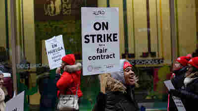 Teachers In Chicago's Charter Schools Go On Strike, And Troubled For-Profit College Closes Campuses