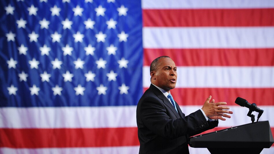 "Former Massachusetts Governor Deval Patrick, pictured above at a 2011 fundraiser, announced this week he would not seek the presidency. ""The process is cruel,"" he said. (Mandell Ngan/AFP/Getty Images)"