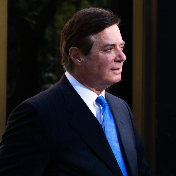 Former Trump campaign chairman Paul Manafort leaves federal court in Washington, D.C., on Oct. 30, 2017.