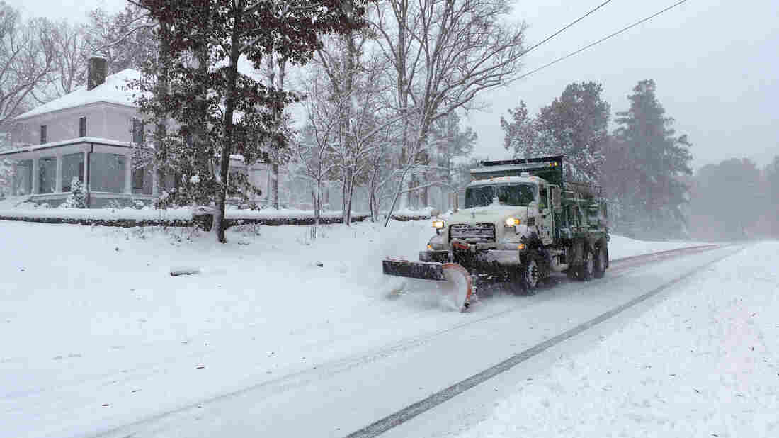 Not Time To 'See The Winter Wonderland': N.C. Governor Says To Stay Off Roads