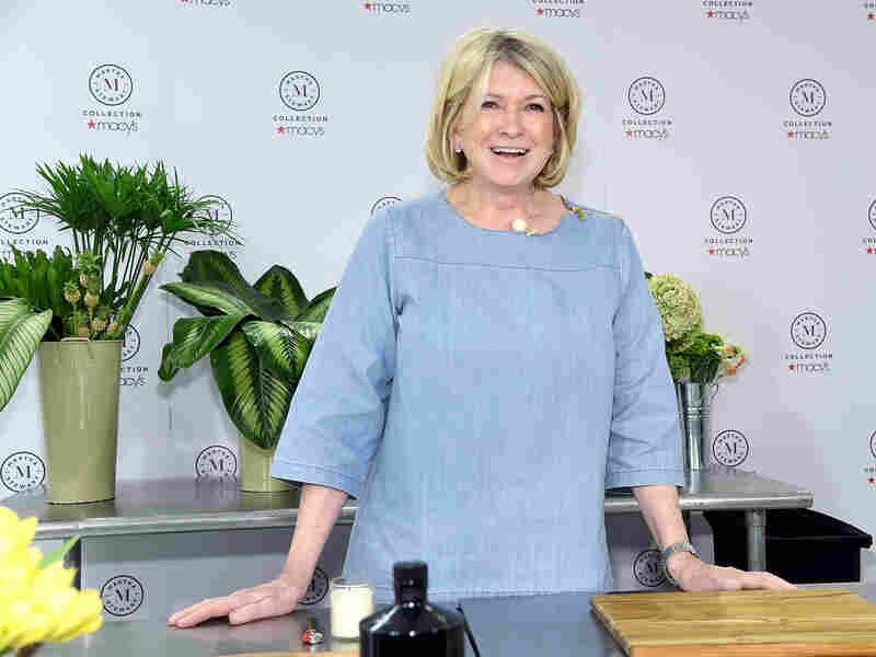 """NEW YORK, NY - APRIL 05: Martha Stewart signs copies of her new book """"Martha's Flowers"""" at Macy's Herald Square on April 5, 2018 in New York City. (Photo by Jamie McCarthy/Getty Images)"""