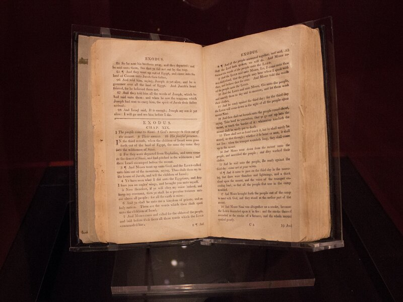 Slave Bible From The 1800s Omitted Key Passages That Could Incite ...
