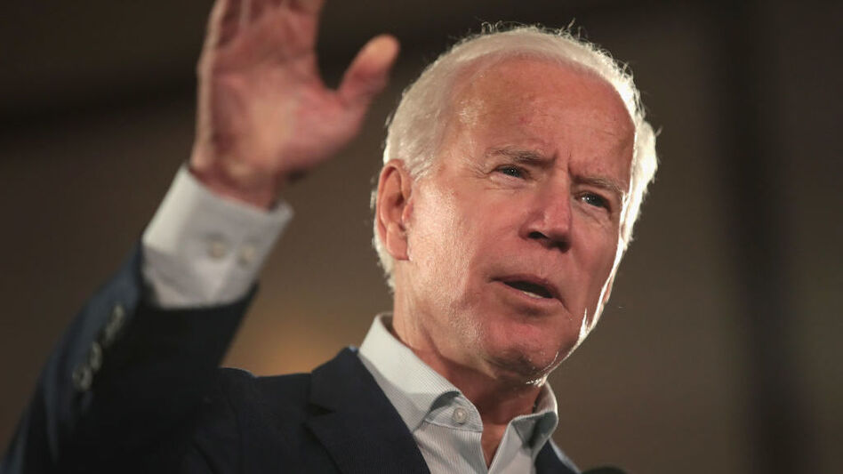Former Vice President Joe Biden hasn't hidden his presidential aspirations since leaving office in 2017, and didn't appear deterred by accusations of inappropriate contact over the past several weeks either. (Scott Olson/Getty Images)