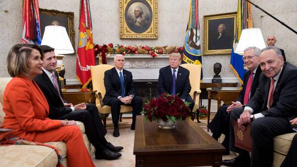 Trump To Meet With 'Chuck And Nancy.' Expectations Are Low