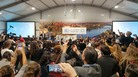 Protesters disrupted a U.S. side event on the future importance of fossil fuels at the COP24 conference in Katowice, Poland, on Monday. Separately, U.S. negotiators are helping to write a rule book that will help countries reduce greenhouse gas emissions.