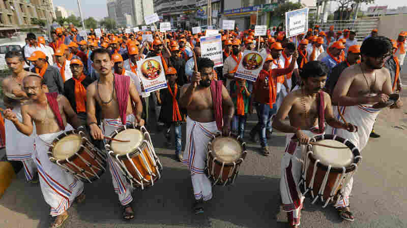 India's Supreme Court Orders Hindu Temple To Open Doors To Women, But Devotees Object