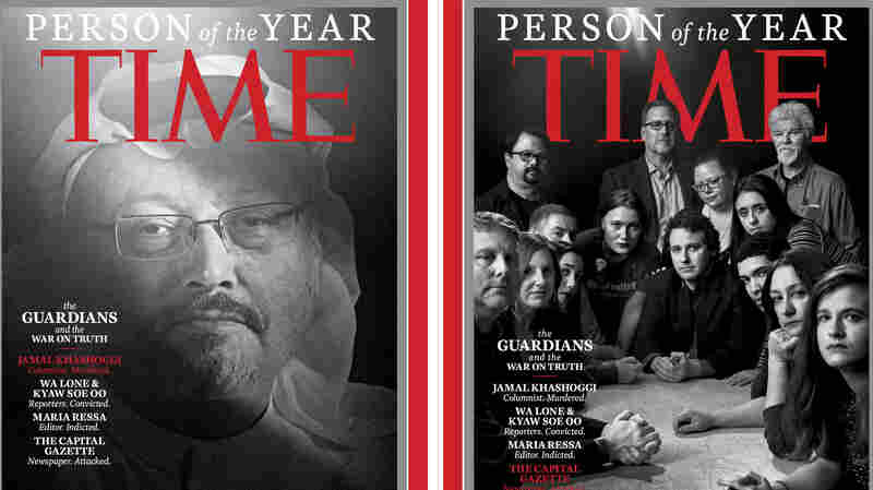 'Time' Person Of The Year For 2018: Journalists Fighting 'War On Truth'