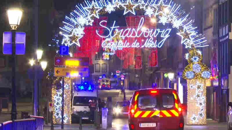 Gunman Attacks French Christmas Market, Killing At Least 2 And Wounding Several