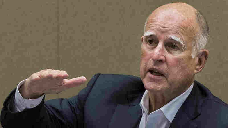 NPR News Interviews Outgoing California Governor Jerry Brown