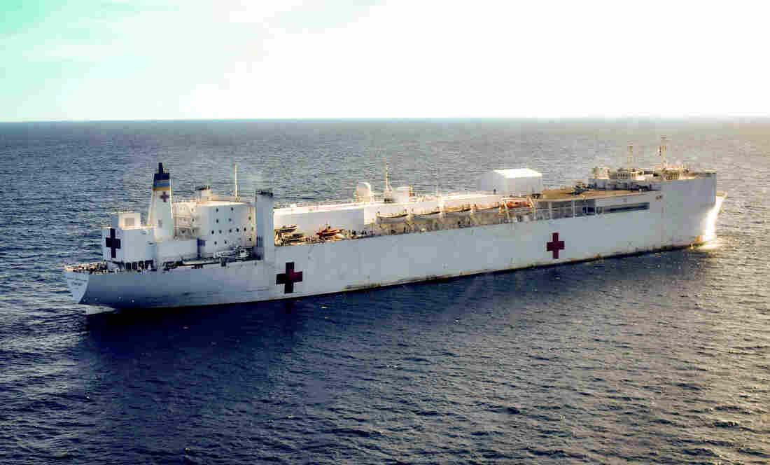 U.S. Navy Sends Hospital Ship To Colombia To Treat Venezuelan Migrants