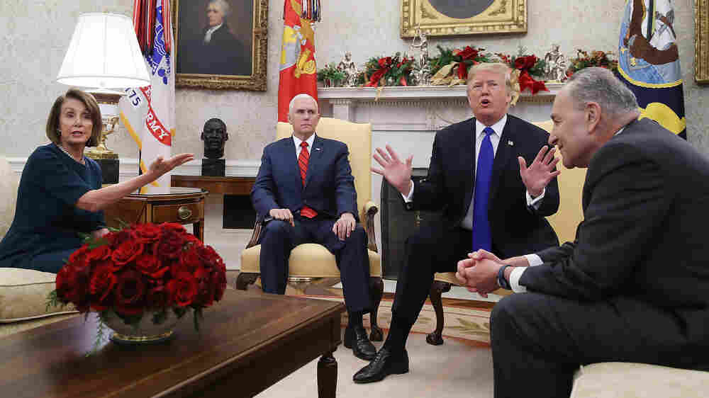 In Fight With 'Chuck And Nancy,' Trump Says He'd Be 'Proud' To Shut Down Government