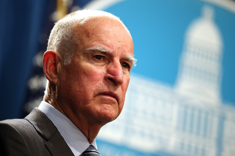 Jerry Brown S Exit Interview Don T Say He Didn T Warn You Npr