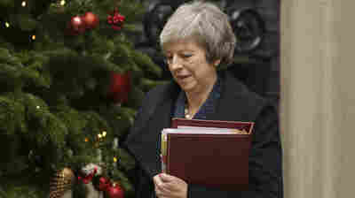What To Know About The No-Confidence Vote Facing British Prime Minister Theresa May