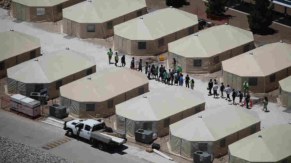 Almost 15,000 Migrant Children Now Held At Nearly Full Shelters