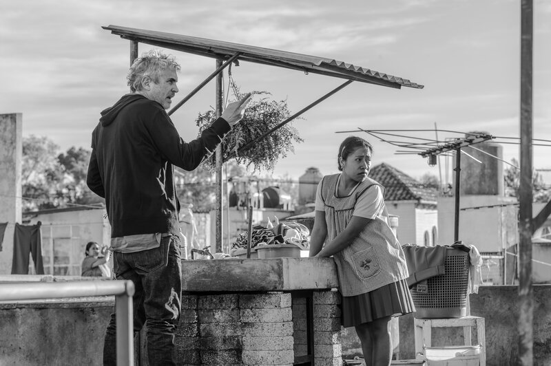 In 'Roma,' A Director Re-Creates The City — And The Caretaker — Of