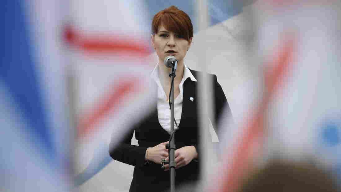 A USA judge postpones plea agreement for Maria Butina