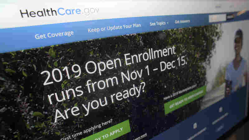 Affordable Care Act Insurance Sign-Ups Fall Slightly For 2019