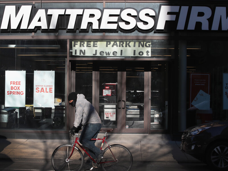Why Are There So Many Mattress Stores Planet Money Npr