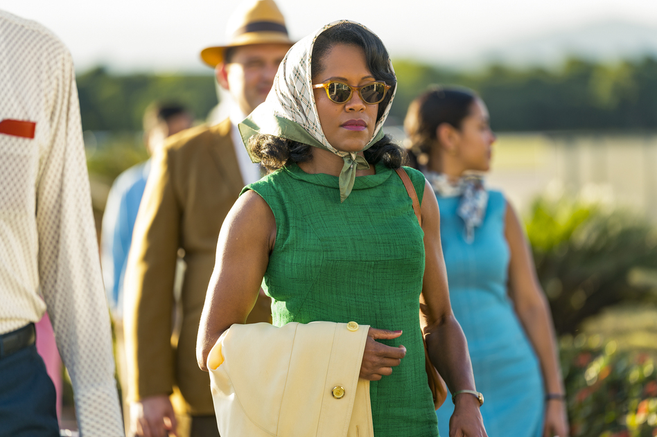 Regina King stars as Sharon, the mother of embattled young lover Tish, <em>If Beale Street Could Talk</em>. (Tatum Mangus/Annapurna Pictures)