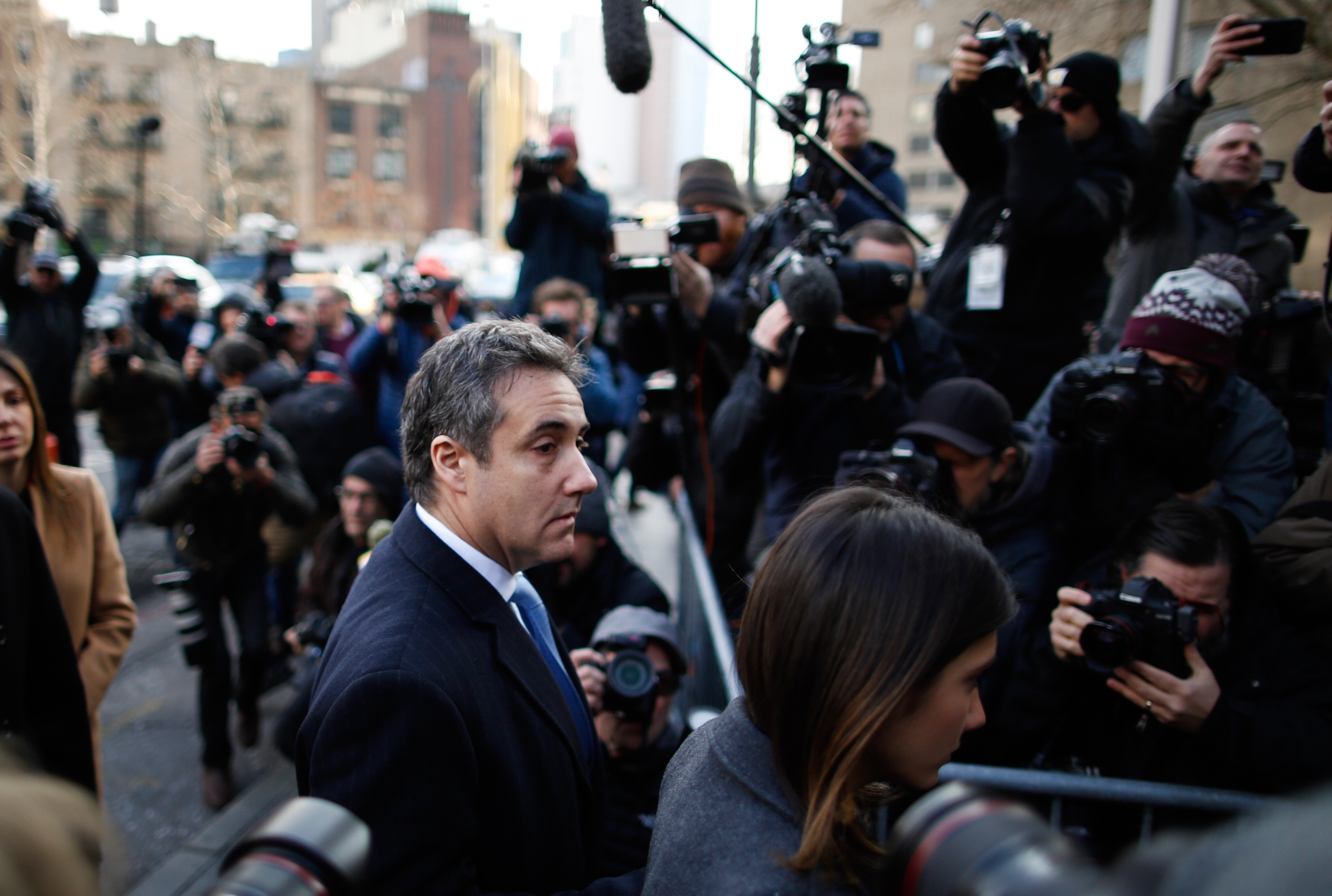 Trump calls Michael Cohen a 'Rat' in tweetstorm