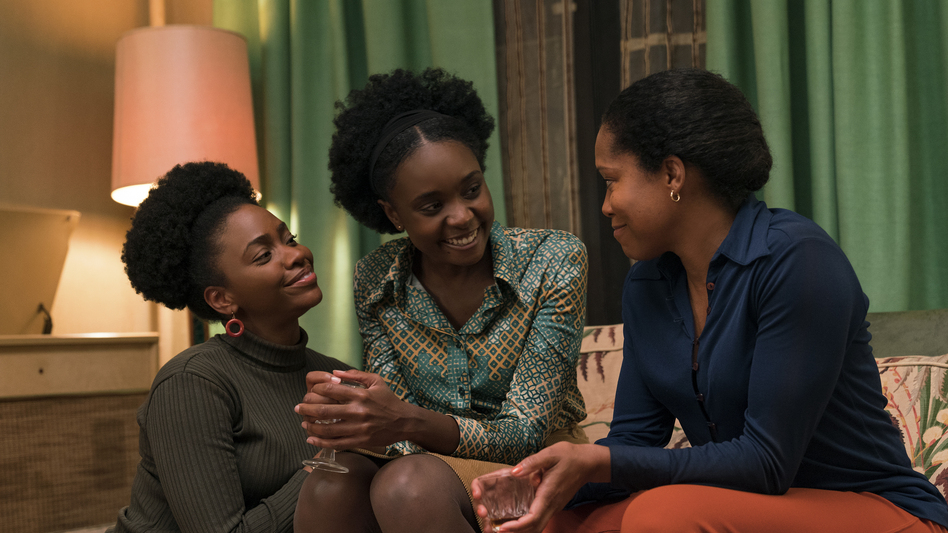 Teyonah Parris, KiKi Layne and Regina King star in <em>If Beale Street Could Talk, </em>adapted from James Baldwin's 1974 novel. (Tatum Mangus/Annapurna Pictures)