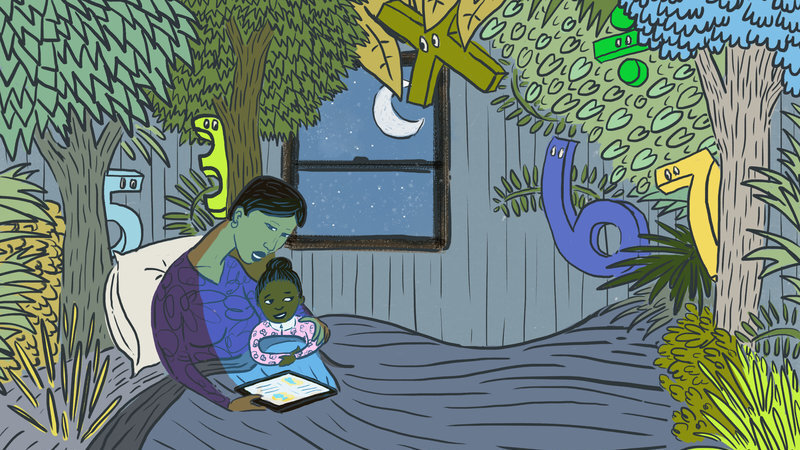 If You're Scared Of Math, Your Kids Might Be Too - NPR image
