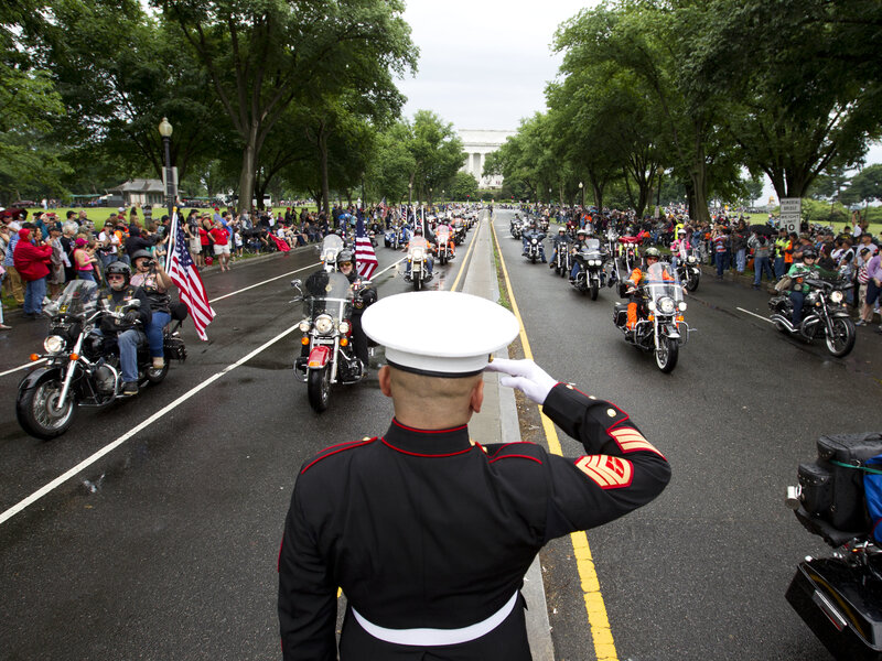 After Decades, 'Rolling Thunder' To Make Its Last Big Ride Through