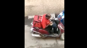 Video Catches Delivery Man In India Sampling Food He Is Delivering