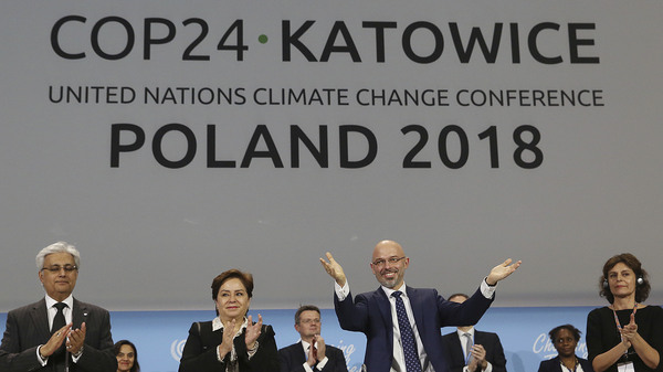 Michal Kurtyka, the Polish official who led U.N. climate change negotiations in Katowice, Poland. On Dec. 15., nearly 200 countries agreed to a set of rules that will implement the landmark Paris agreement.